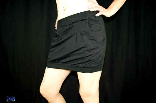 Ladies Mini Skirt (Black)