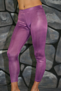 Muse Damen Leggings glänzend