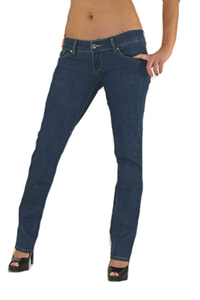 ladies hipster jeans MR025