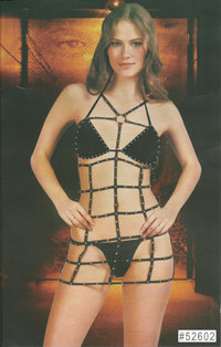 "Sanselle Damen Dessous Set ""Spiders Net"""