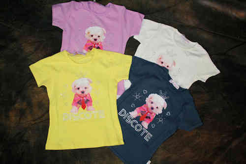 "Image Kids camiseta de chicas ""Dog"""