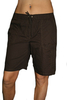 Damen Shorts (Braun)