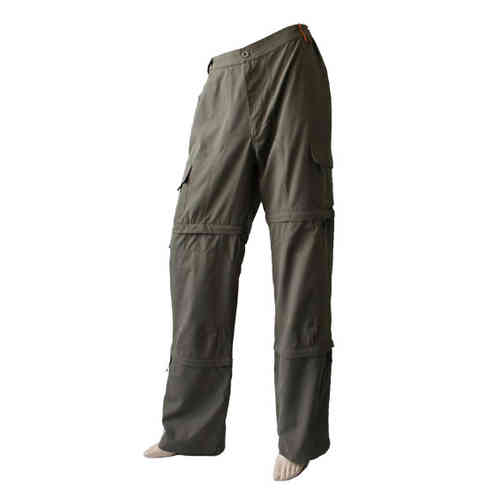 "Men Functional Trousers """"3 in 1"" Hose, Caprihose und Bermudashorts"""