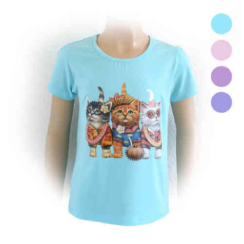 "Le shirt pour fille ""Cat"""