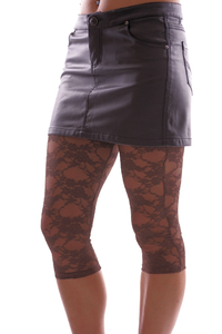 Ladies Leggings with net pattern