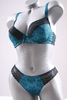 "M-Mala dames bh set ""kroon"" (turkoois) (75-90D)"