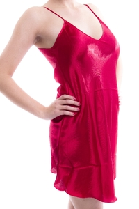 M-Mala Ladies Satin negligee (Red)