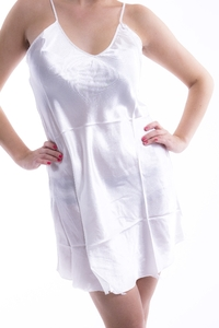 M-Mala Ladies Satin negligee (White)