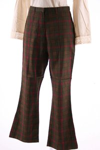 Ladies 7/8 Pants chequered