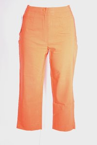 Ladies Capri Pants (Orange)