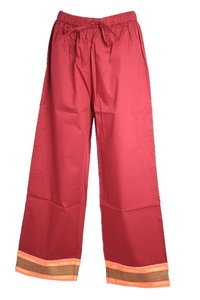Ladies 7/8 Pants with Border