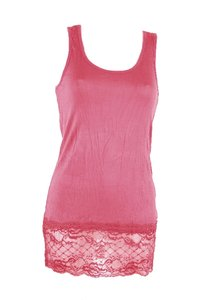 Ladies Top with lace (Salmon)