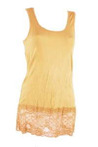 Ladies Top with lace (Orange)