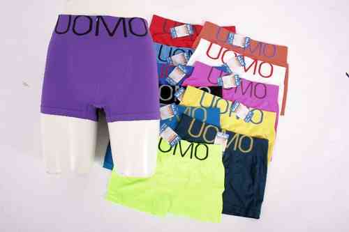 "Men Microfiber Boxer Shorts ""Unico"" (L)"