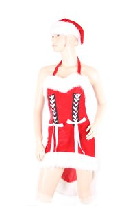 "M-Mala Ladies Negligee Set made of velvet ""Christmas Eve"""