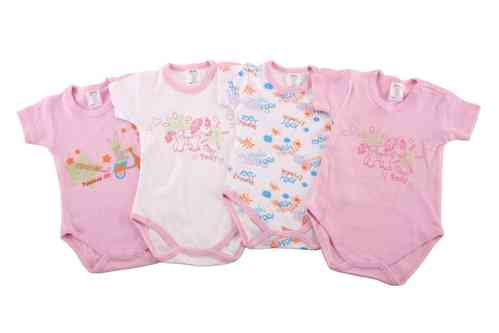 "Babies Bodysuit ""Girls"""