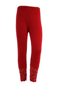 "Legging pour fille ""Glamour"" (rouge)"