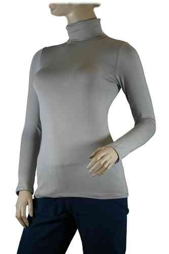 "Ladies Thermo Long Sleeve with Roll Neck ""Yvette"" (Light grey)"
