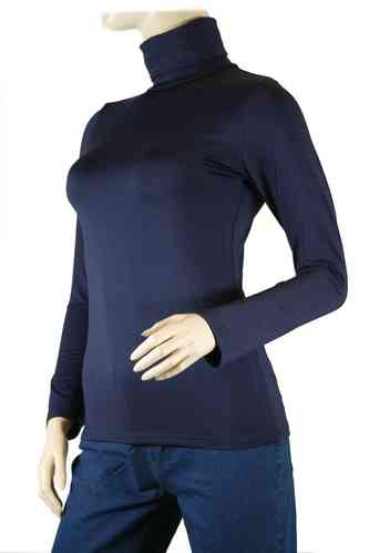 "Ladies Thermo Long Sleeve with Roll Neck ""Yvette"" (Night blue)"