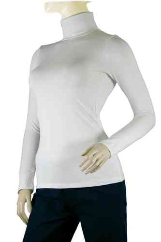 "Ladies Thermo Long Sleeve with Roll Neck ""Yvette"" (White)"