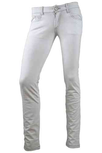 "Ladies Jeans Leggings ""Kailyn"" (White)"