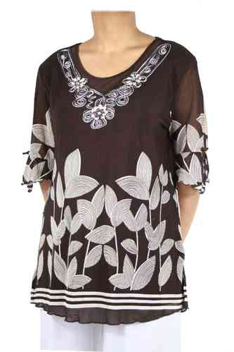 "Big Size Damen Shirt ""Carola"""