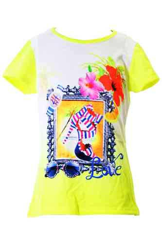 "Le tee-shirt pour fille ""Canvas"""