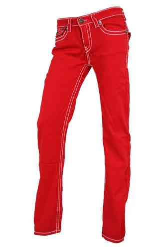 Ladies Jeans (Red)