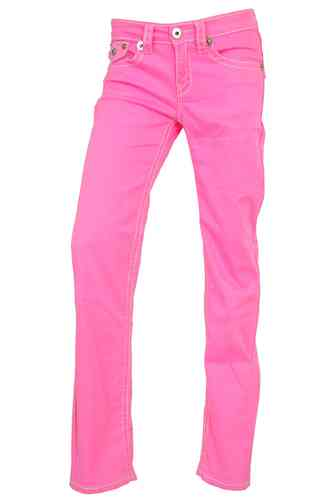 Ladies Jeans (Fuchsia)