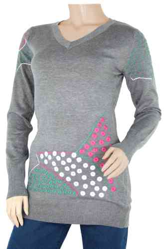 "Ladies Knitted Sweater ""Elly"""