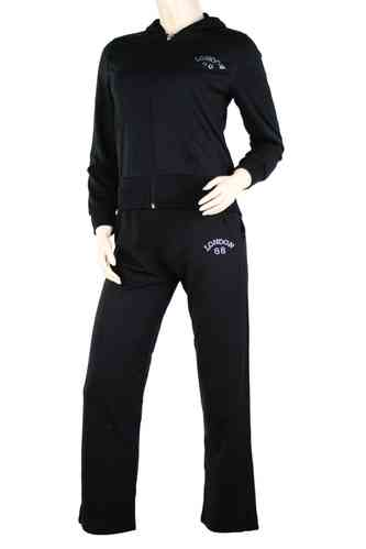 "Ladies Track Suit ""Grenoble"" (Black)"