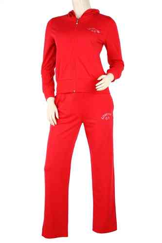 "Ladies Track Suit ""Grenoble"" (Red)"