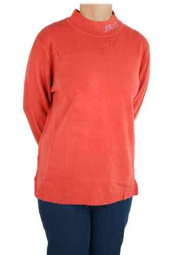 "Le pull-over pour femme ""Jenny"" (terre cuite)"