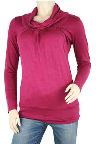 "Dames shirt ""Turtleneck"" (bes)"