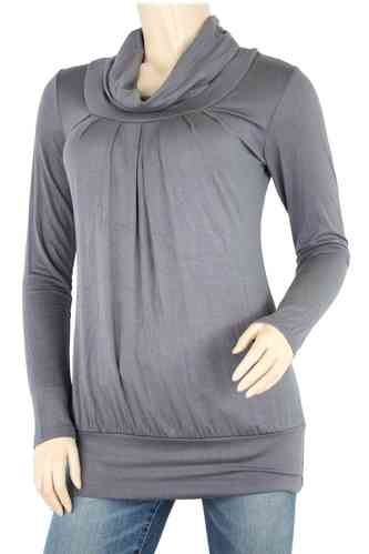 "Ladies Shirt ""Turtleneck"" (Anthracite)"