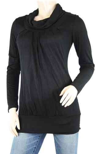 "Ladies Shirt ""Turtleneck"" (Black)"