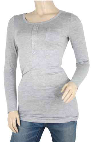 "Ladies Shirt ""Dressy"" (Grey)"