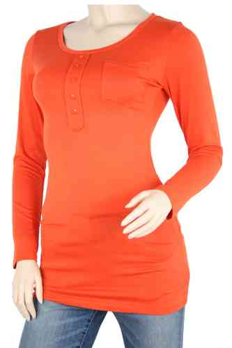 "Ladies Shirt ""Dressy"" (Terra cotta)"