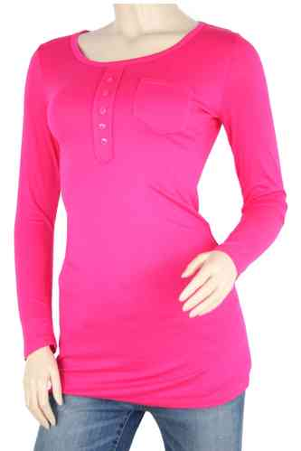"Ladies Shirt ""Dressy"" (Fuchsia)"