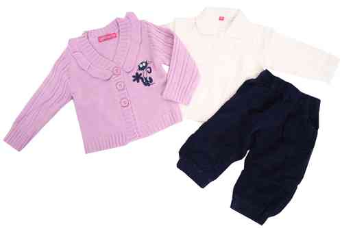 "Babies 3-Pieces-Set ""Cat"""
