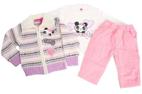"Babies 3-Pieces-Set ""Panda"""