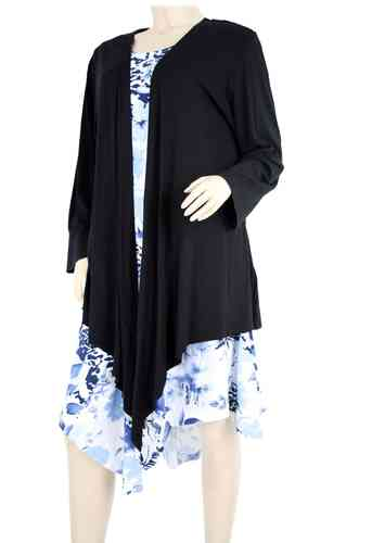 "chokri Big Size Ladies Tunic with Bolero ""Béatrice"" (48-60)"