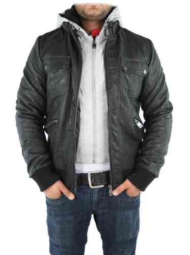 "Men Winter Jacket ""Haines"" (Black)"