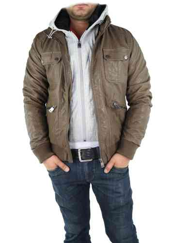 "Men Winter Jacket ""Haines"" (Light brown)"