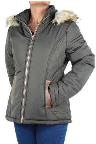 "Ladies Winter Jacket ""Starlite"" (Khaki)"
