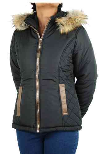 "Ladies Winter Jacket ""Starlite"" (Black)"