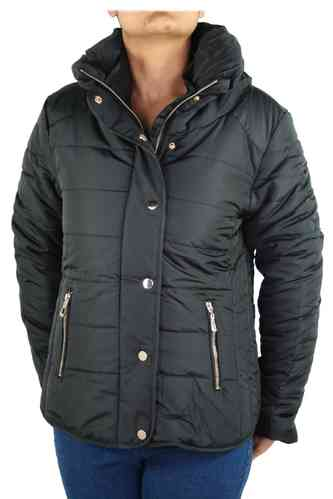 "Ladies Winter Jacket ""Stella"" (Black)"