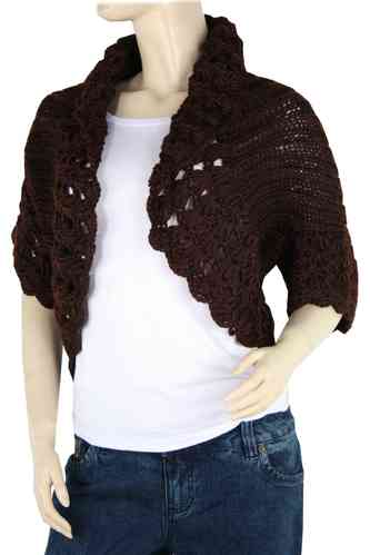 "Ladies Bolero ""Ninette"" (Chocolate)"