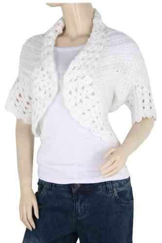 "Ladies Bolero ""Ninette"" (White)"