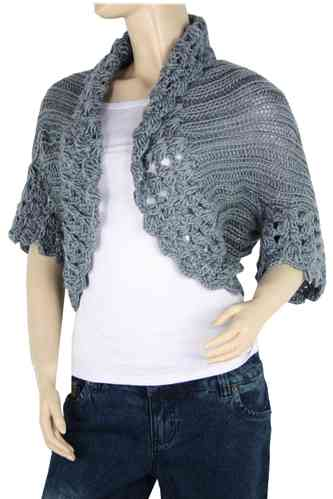 "Ladies Bolero ""Ninette"" (Grey)"